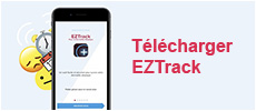 Appli mobile EZtrack